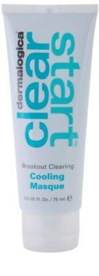 Dermalogica Clear Start Breakout Clearing mascarilla calmante con efecto refrescante para imperfecciones de la piel con acné