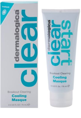 Dermalogica Clear Start Breakout Clearing zklidňující maska s osvěžujícím efektem proti nedokonalostem aknózní pleti 1