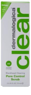 Dermalogica Clear Start Blackhead Clearing дълбоко почистващ пилинг против черни точки 2