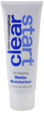 Dermalogica Clear Start Oil Clearing feuchtigkeitsspendendes, mattierendes Fluid SPF 15