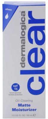 Dermalogica Clear Start Oil Clearing loción hidratante matificante  SPF 15 2