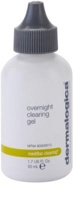 Dermalogica mediBac clearing gel de noapte hidratant pre-acnee