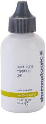 Dermalogica mediBac clearing nočni vlažilni gel za preprečevanje aken