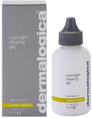 Dermalogica mediBac clearing gel de noapte hidratant pre-acnee 1