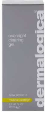 Dermalogica mediBac clearing nočni vlažilni gel za preprečevanje aken 2