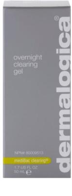 Dermalogica mediBac clearing gel de noapte hidratant pre-acnee 2
