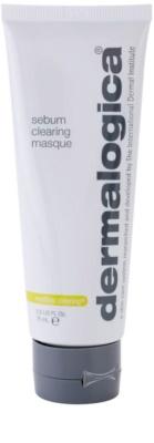 Dermalogica mediBac clearing Máscara facial de limpeza para pele oleosa propensa a acne