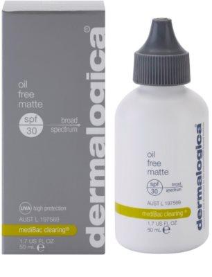 Dermalogica mediBac clearing ochronny krem matujący do twarzy SPF 30 1
