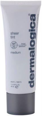 Dermalogica Sheer Tint gyengéd tonizáló fluid SPF 20