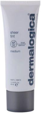 Dermalogica Sheer Tint lahki tonirani fluid SPF 20