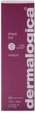 Dermalogica Sheer Tint Fluid nuantator cu textura usoara SPF 20 2