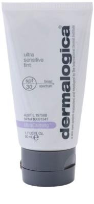 Dermalogica UltraCalming zaščitna tonirana krema brez kemičnih filtrov SPF 30