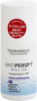 Dermedic Antipersp T antiperspirant roll-on za zelo občutljivo kožo 48 ur