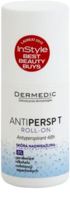 Dermedic Antipersp T antyperspirant roll-on do bardzo wrażliwej skóry 48 godz.