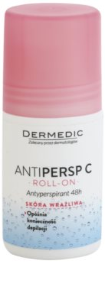 Dermedic Antipersp C Deo-Roller zur Verlangsamung des Haarwachstums 48 Std.