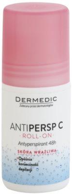 Dermedic Antipersp C deodorant roll-on pro zpomalení růstu chloupků 48h
