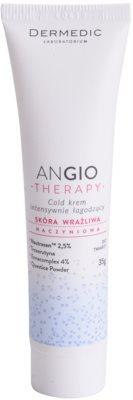 Dermedic Angio Therapy intenzivna pomirjajoča hladilna krema za občutljivo in pordelo kožo