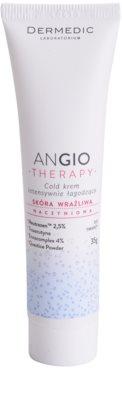 Dermedic Angio Therapy інтенсивний заспокоюючий охолоджуючий крем для чутливої шкіри та шкіри схильної до почервонінь