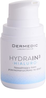 Dermedic Hydrain3 Hialuro hydratisierende Tagescreme gegen Falten 1