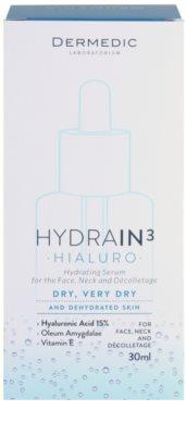 Dermedic Hydrain3 Hialuro feuchtigkeitsspendendes Hautserum für trockene bis sehr trockene Haut 3