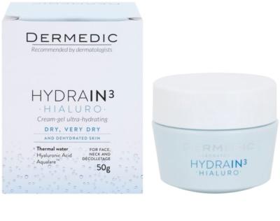 Dermedic Hydrain3 Hialuro tiefenwirksames feuchtigkeitsspendendes Gel 1