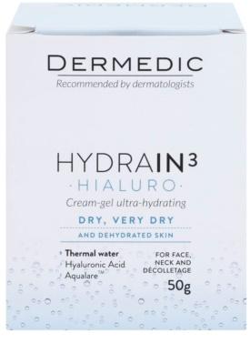 Dermedic Hydrain3 Hialuro tiefenwirksames feuchtigkeitsspendendes Gel 2
