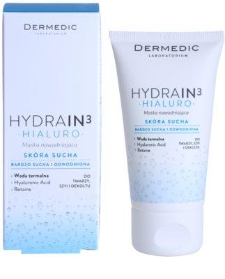Dermedic Hydrain3 Hialuro hydratační maska 2