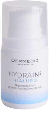 Dermedic Hydrain3 Hialuro crema de noche hidratante antiarrugas
