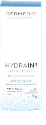 Dermedic Hydrain3 Hialuro encimski piling za dehidrirano suho kožo 2