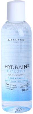Dermedic Hydrain3 Hialuro água micelar