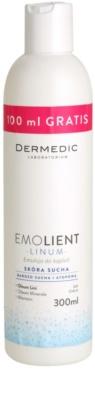 Dermedic Linum Emolient emulsão para banho