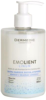 Dermedic Linum Emolient сапун за ръце, защитаващ липидната бариера