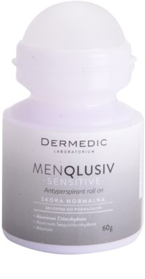 Dermedic Menqlusiv Sensitive antitranspirante roll-on 1