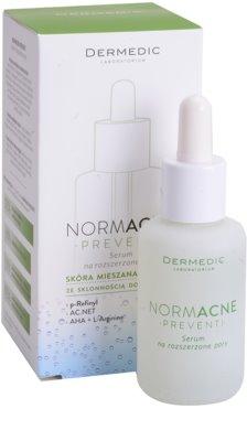 Dermedic Normacne Preventi serum za razširjene pore za mešano in mastno kožo 1