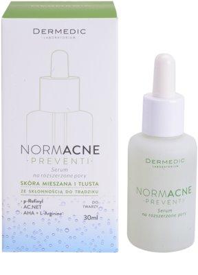 Dermedic Normacne Preventi serum za razširjene pore za mešano in mastno kožo 2