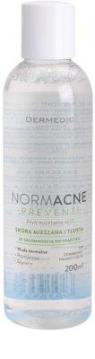 Dermedic Normacne Preventi água micelar para pele mista e oleosa