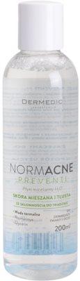 Dermedic Normacne Preventi agua micelar para pieles mixtas y grasas