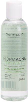 Dermedic Normacne Preventi demachiant calmant tonic pentru ten mixt si gras