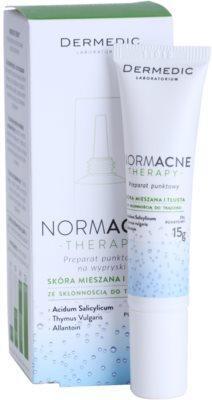 Dermedic Normacne Therapy helyi ápolás pattanások ellen 1