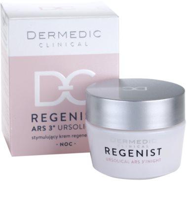 Dermedic Regenist ARS 3° Ursolical stimulierende und regenerierende Nachtcreme 2