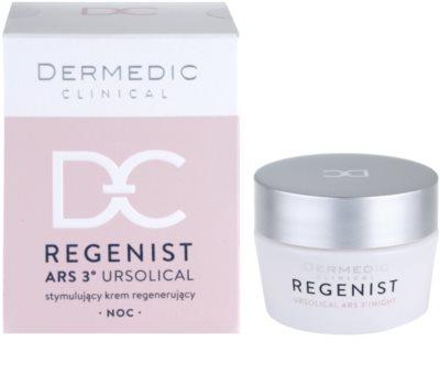 Dermedic Regenist ARS 3° Ursolical stymulujący i regenerujący krem na noc 3
