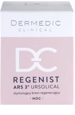 Dermedic Regenist ARS 3° Ursolical stymulujący i regenerujący krem na noc 4