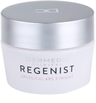 Dermedic Regenist ARS 3° Ursolical creme de noite estimulante e regenerador