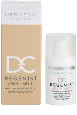 Dermedic Regenist ARS 4°- ARS 5° Anti-Falten Creme Für Lippen und Augenumgebung 3