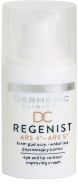 Dermedic Regenist ARS 4°- ARS 5° creme antirrugas para contornos dos olhos e lábios