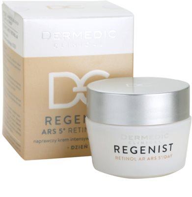 Dermedic Regenist ARS 5° Retinol AR intenzivna gladilna dnevna krema 2
