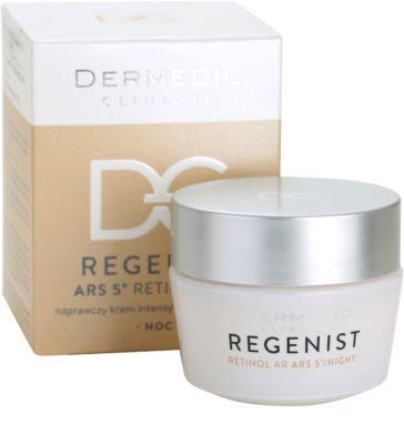 Dermedic Regenist ARS 5° Retinol AR интензивен възстановяващ нощен крем 2