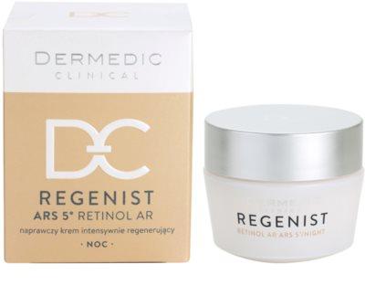 Dermedic Regenist ARS 5° Retinol AR интензивен възстановяващ нощен крем 3