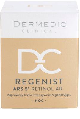 Dermedic Regenist ARS 5° Retinol AR интензивен възстановяващ нощен крем 4