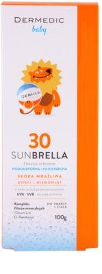Dermedic Sunbrella Baby ásványi védő emulzió SPF 30 3